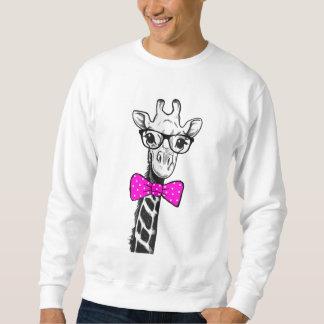 Hipster Giraffe Sweatshirt