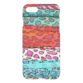 Hipster girly abstract animal pattern iPhone 7 case