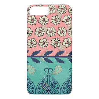 Hipster Girly Boho Paisley iPhone 7 Plus Case