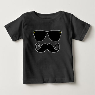 Hipster - Glasses and 'Stache Baby T-Shirt
