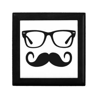 Hipster Glasses & Handlebar Mustache Gift Box