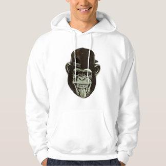 Hipster Gorilla Hoodie