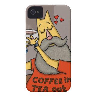 Hipster Hazelnut latte iPhone 4 Case