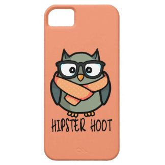 Hipster Hoot Barely There iPhone 5 Case