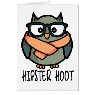 Hipster Hoot Card