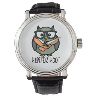 Hipster Hoot Watch