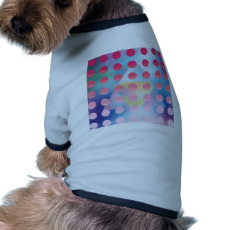 Hipster,hot pink polka dot,graphic,pattern,happy doggie t-shirt