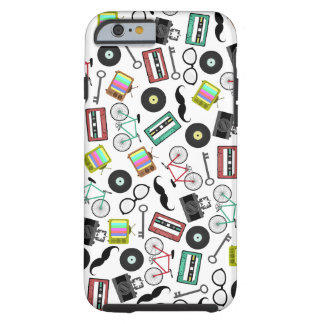 Hipster iPhone 6 case Tough iPhone 6 Case