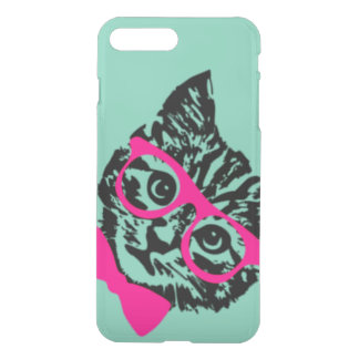 Hipster Kitty iPhone 7 Plus Case