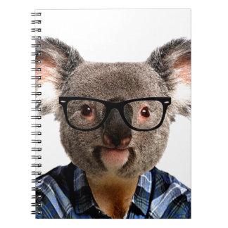Hipster Koala Notebooks