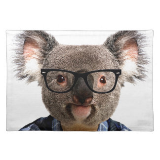 Hipster Koala Placemat