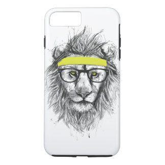 Hipster lion iPhone 7 plus case