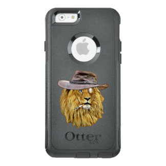 Hipster Lion Wildcat Animal OtterBox iPhone 6/6s Case