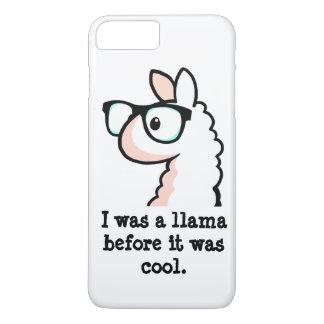 Hipster Llama iPhone 7 Plus Case