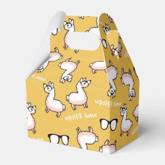 Hipster Llama Madness Wedding Favour Box
