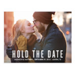 Hipster Love | Save the Date Postcard
