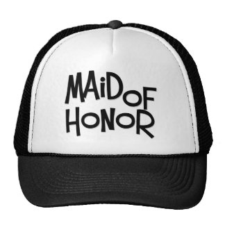 Hipster Maid of Honor Cap