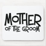 Hipster Mother of the Groom Mouse Pad