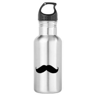 Hipster Mustache 532 Ml Water Bottle