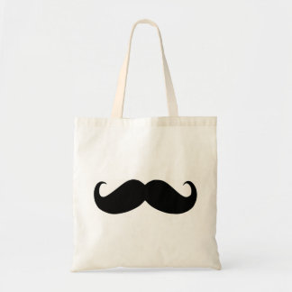 Hipster Mustache Budget Tote