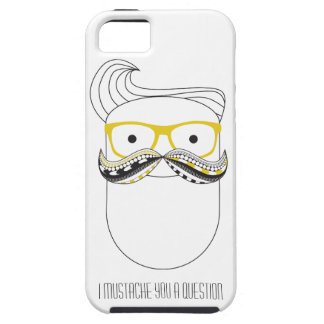 Hipster Mustache iPhone 5 Covers