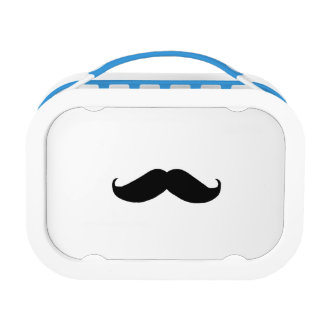 Hipster Mustache Lunch Box