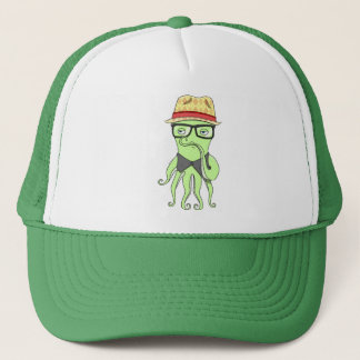 Hipster Octopus Hat