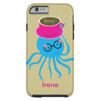 Hipster Octopus Tough iPhone 6 Case