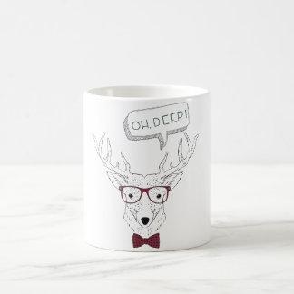 Hipster Oh, Deer Coffee Mug