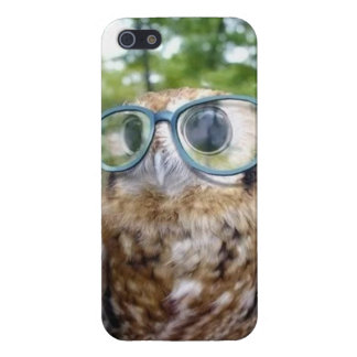 Hipster Owl Phone iPhone 5 Cases