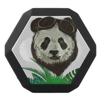Hipster Panda Bear Animal Black Bluetooth Speaker