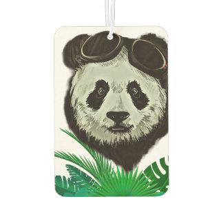 Hipster Panda Bear Animal Car Air Freshener