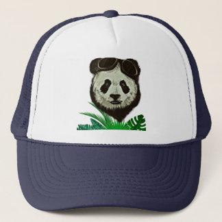 Hipster Panda Bear Animal Trucker Hat