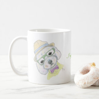 Hipster Puppy Mug