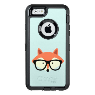 Hipster Red Fox OtterBox iPhone 6/6s Case