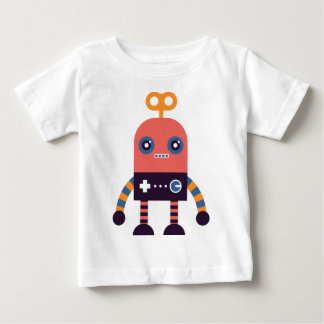 Hipster Robot Baby T-Shirt