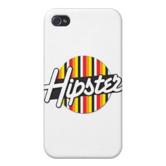 Hipster Rockabilly design Cases For iPhone 4