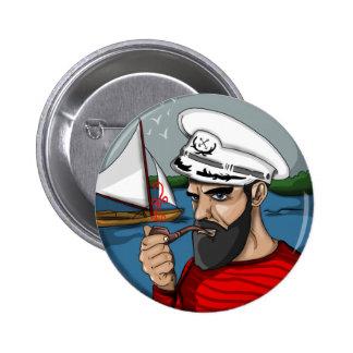 Hipster sailor button