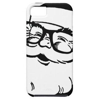 hipster santa iPhone 5 case