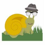 Hipster Snail Sculpture
