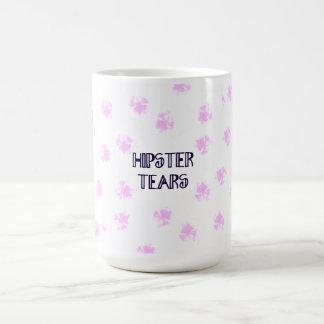Hipster Tears Mug