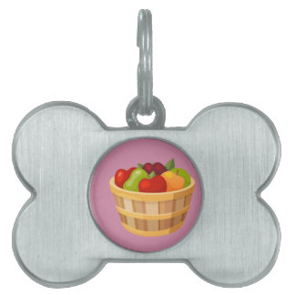 Hipster Thanksgiving Pet ID Tag