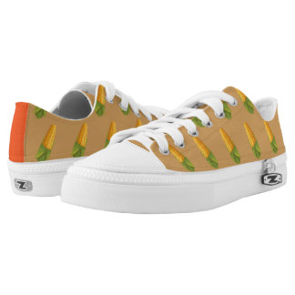 Hipster Thanksgiving Printed Shoes