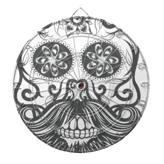 Hipster to sugar skull 1 dartboard