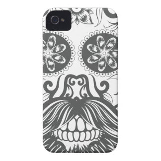 Hipster to sugar skull 1 iPhone 4 case