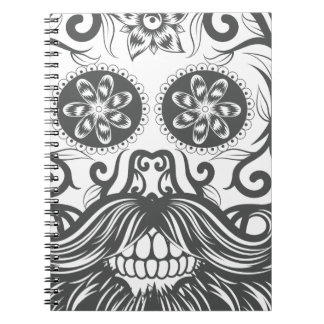 Hipster to sugar skull 1 notebooks