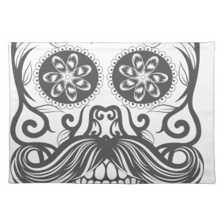 Hipster to sugar skull 1 placemat