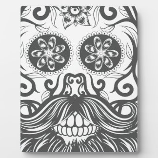Hipster to sugar skull 1 plaque