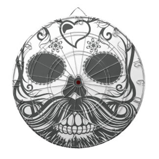 Hipster to sugar skull 2 dartboard