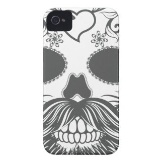 Hipster to sugar skull 2 iPhone 4 Case-Mate case